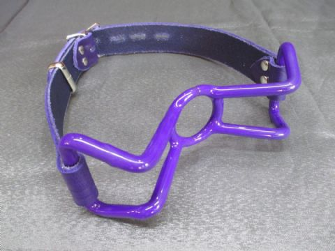 Limited Edition Purple Rubber Coated Spider Gag